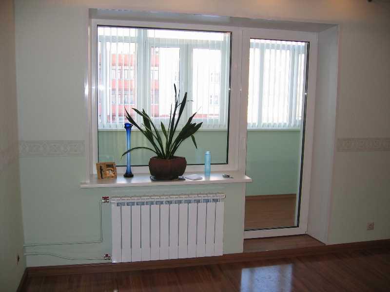 Установка окон и балконных дверей